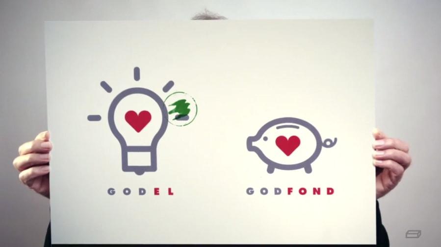 Godel infomercial, picture image brikk