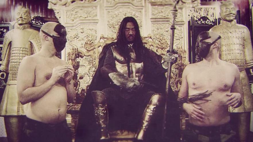 Kung på tron