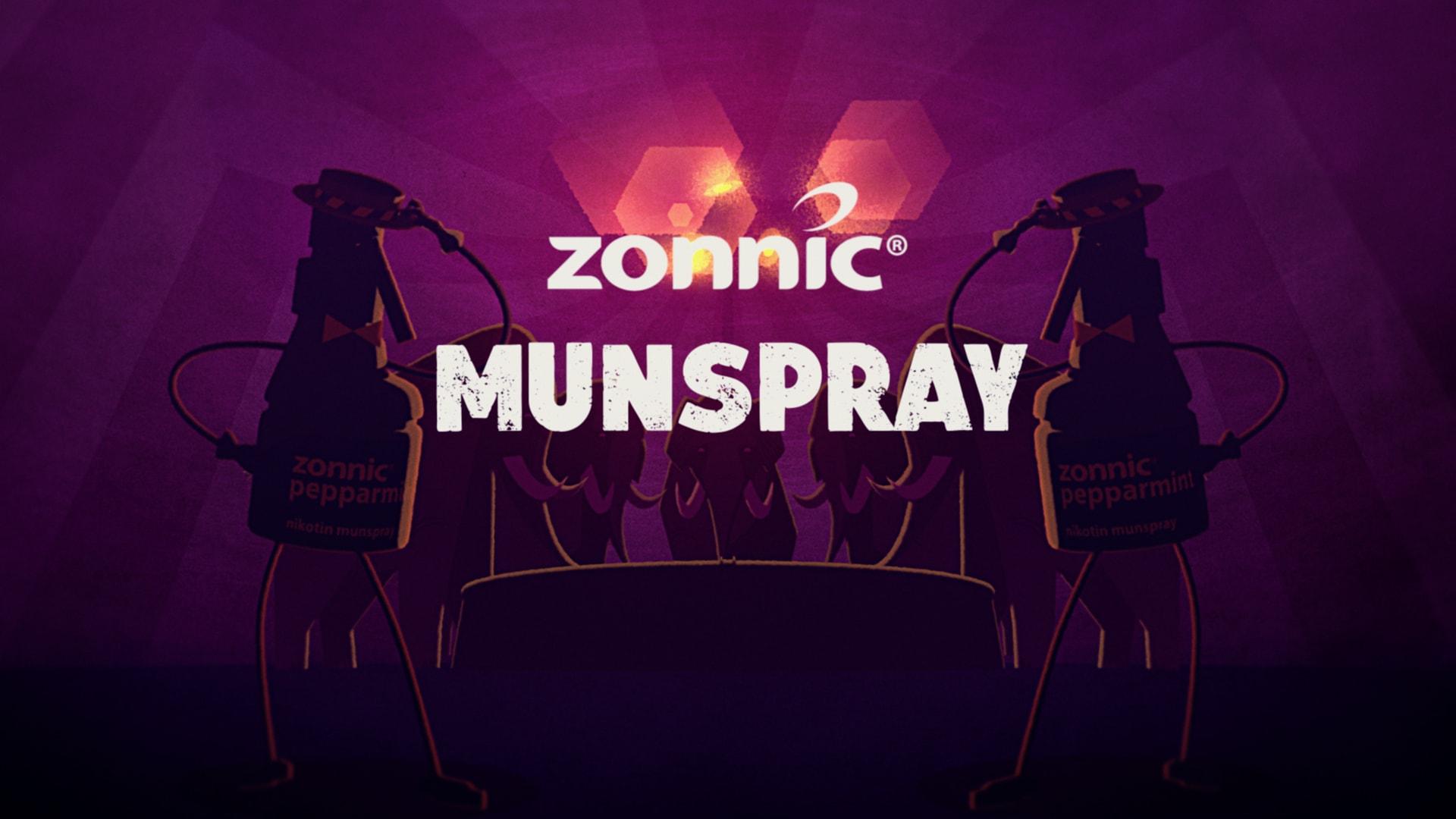 Zonnic munspray