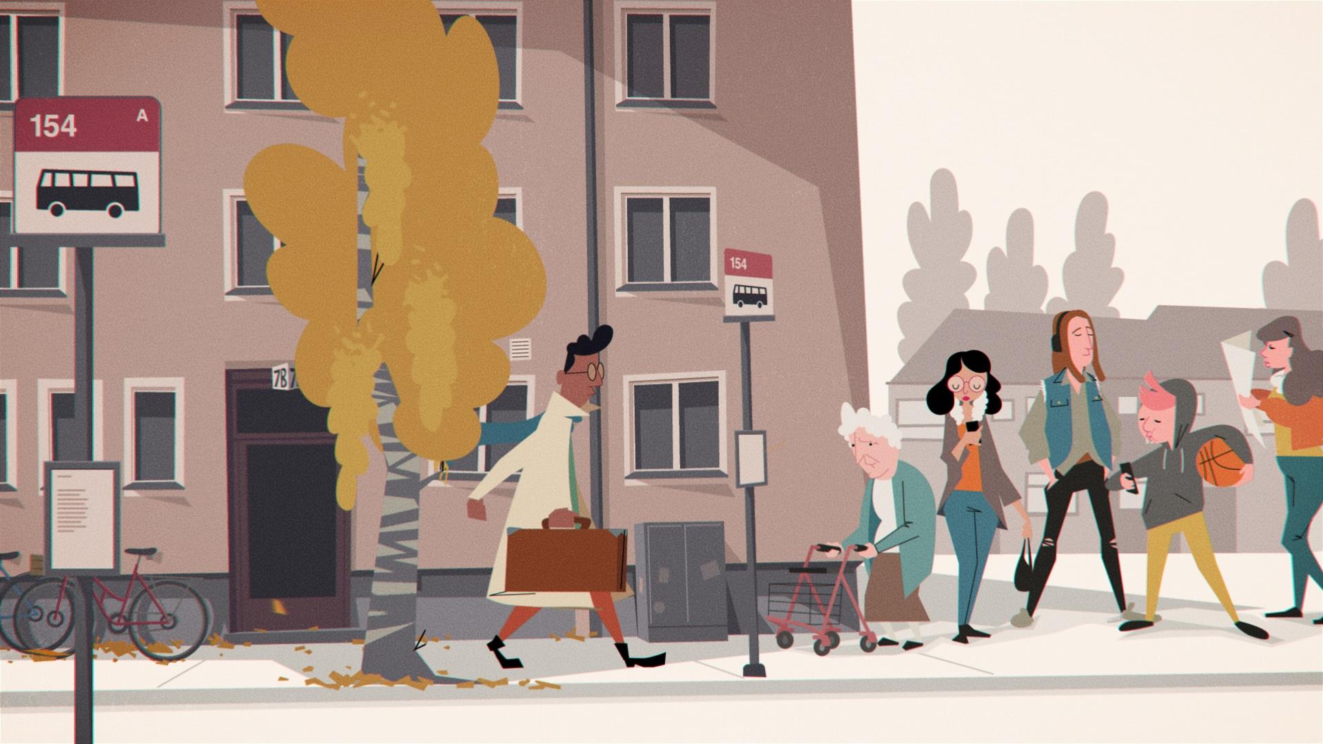Försäkringskassan animerad film