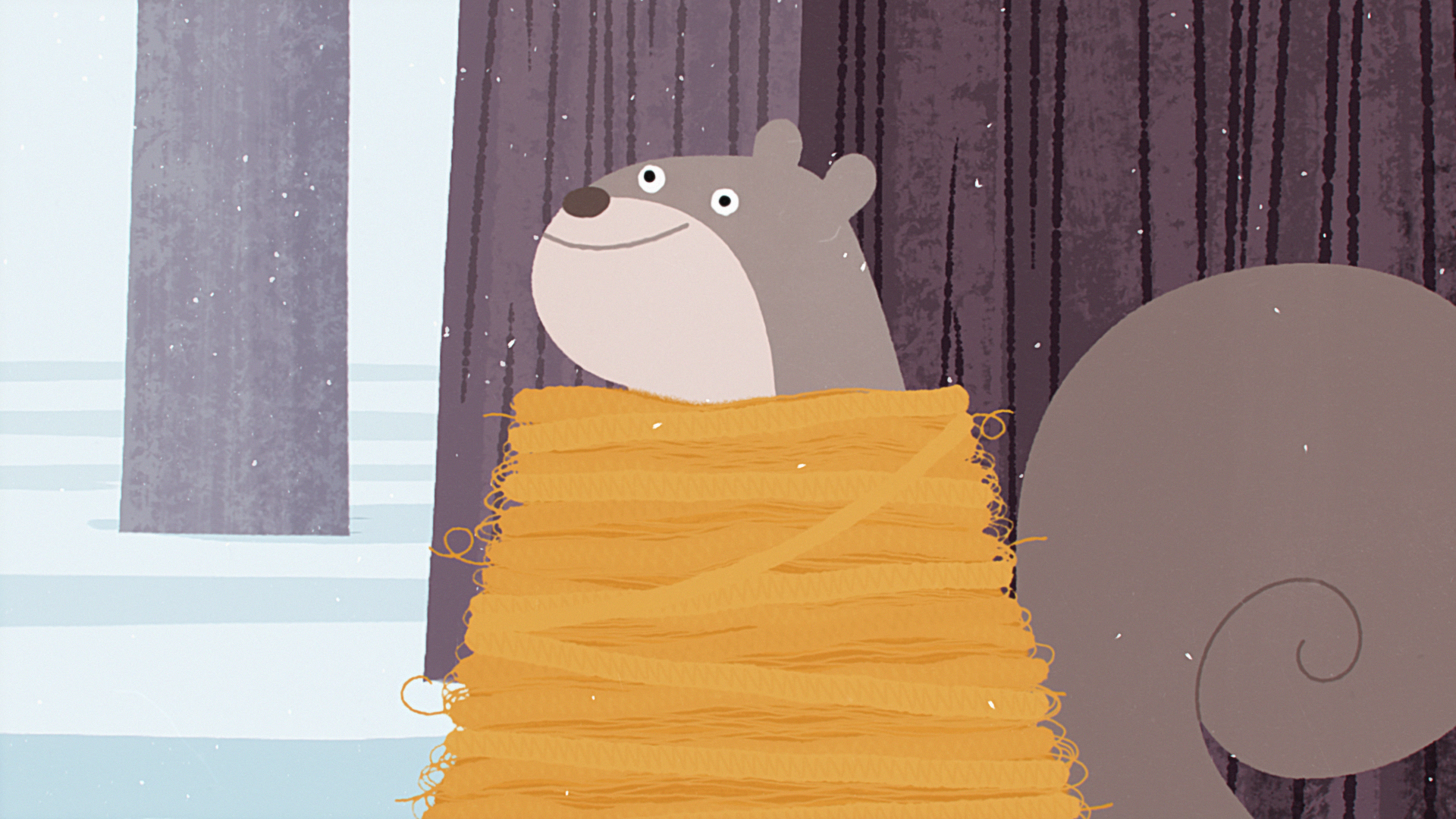 CBS: Happy hollidays Animation