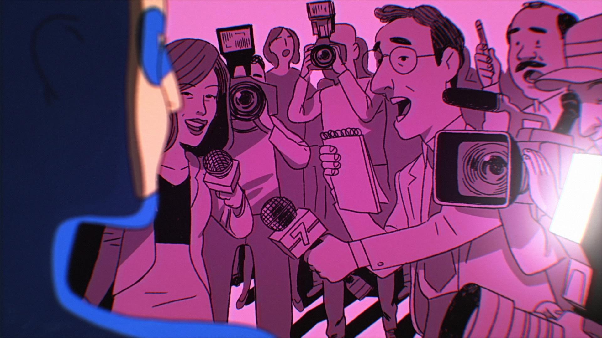 Animation skapad av produktionsbolaget Brikk