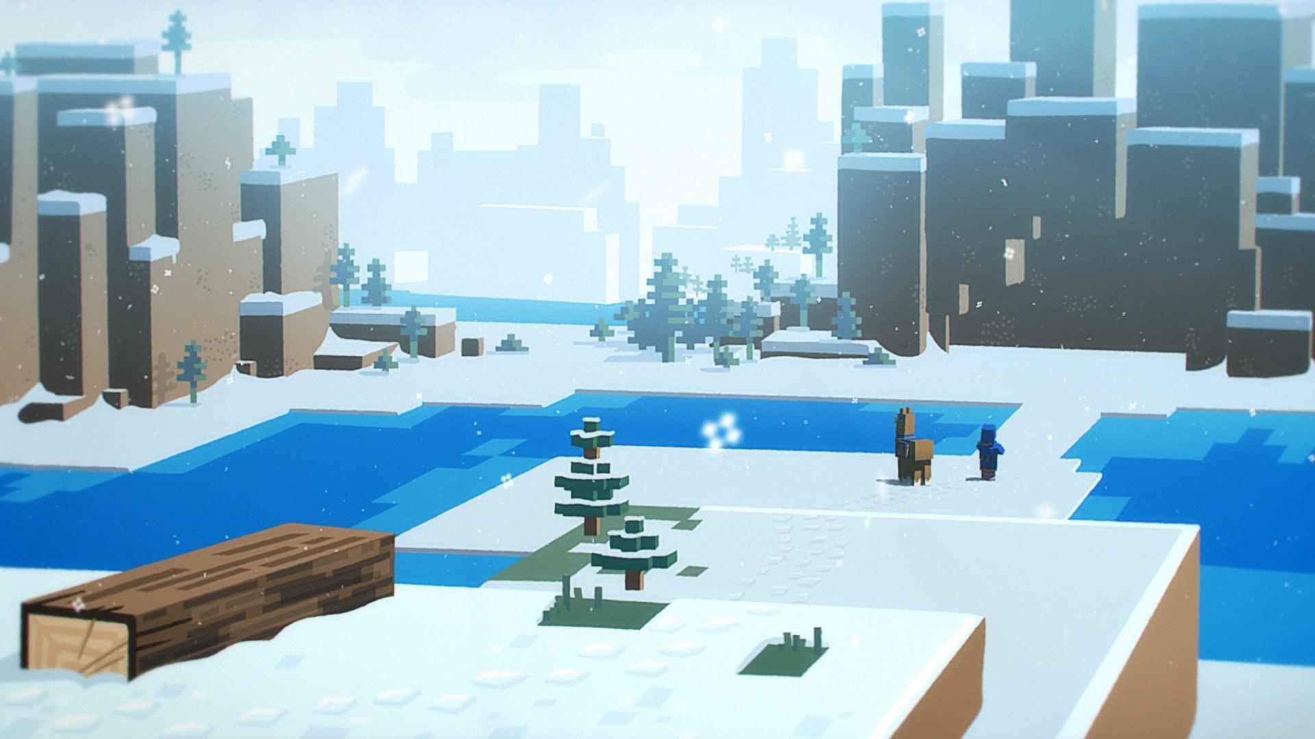 Styleframe Minecraft Village and Pillage